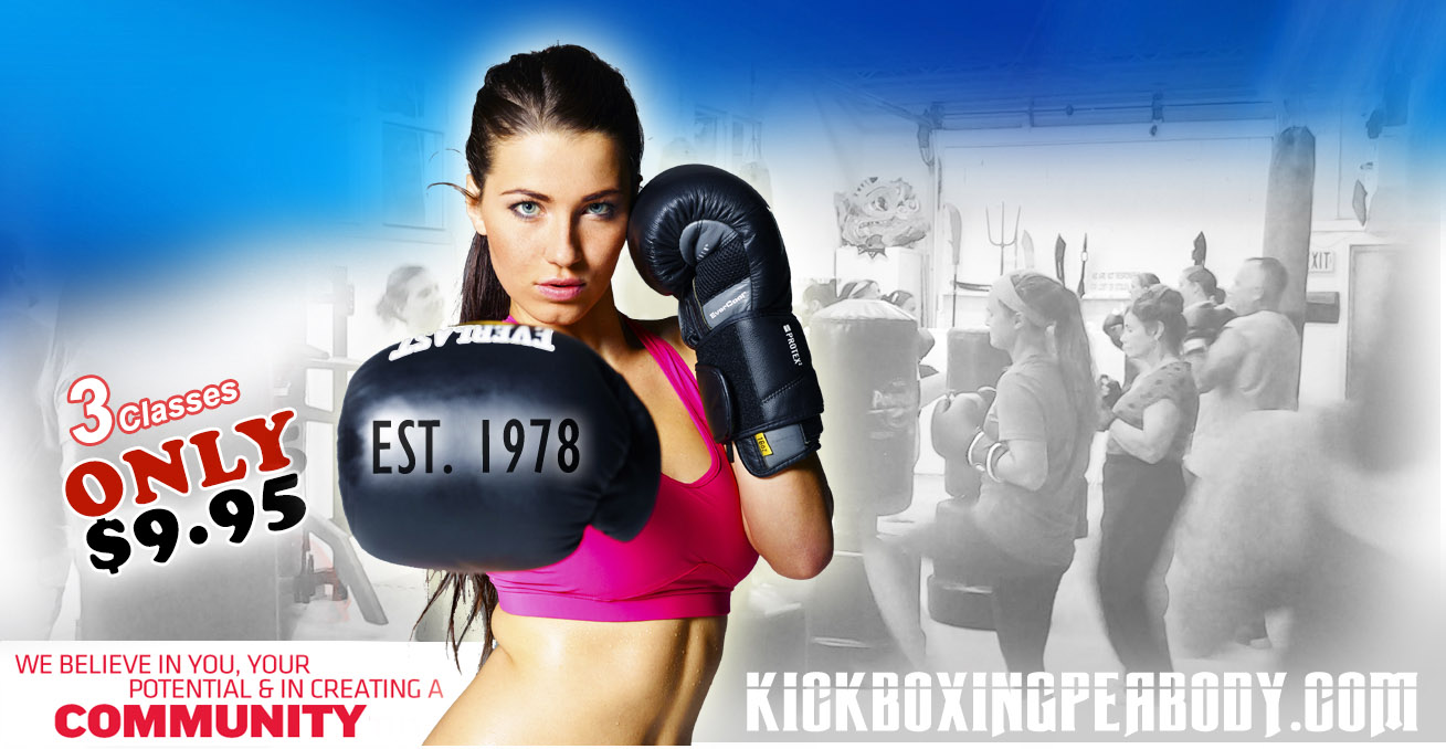 Welcome to Kickboxing Peabody, Since 1978